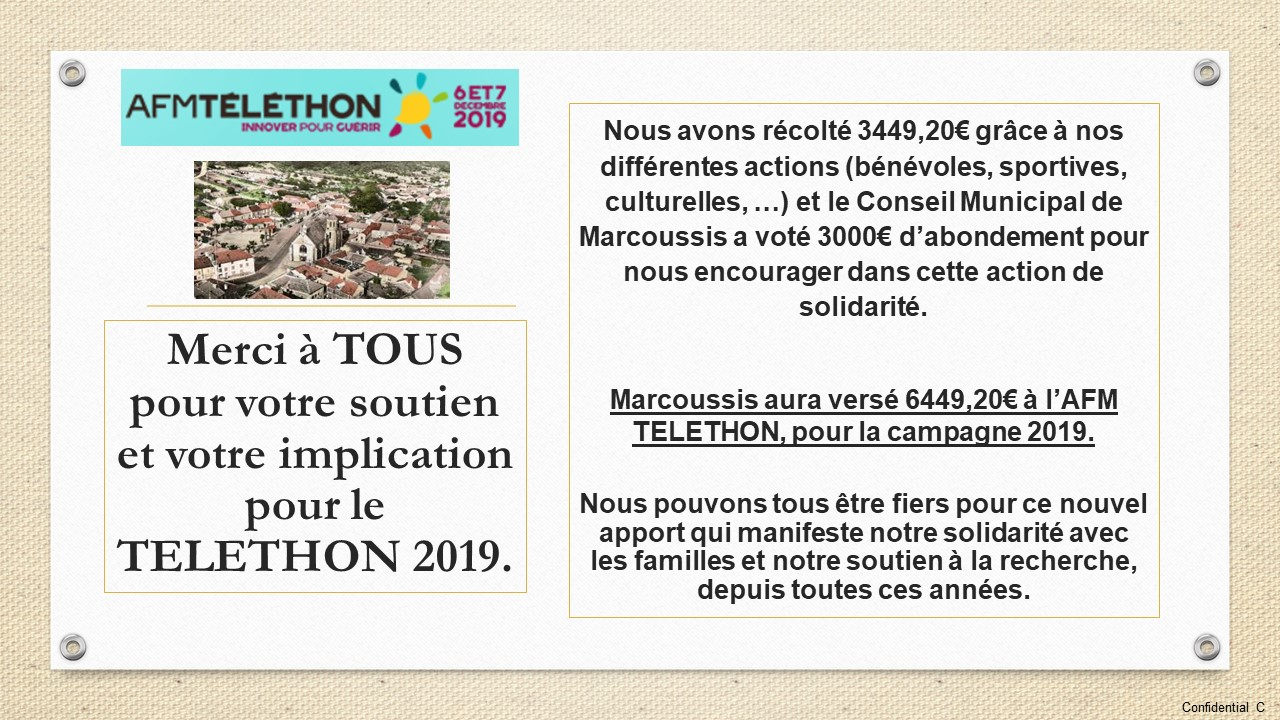 telethon 2019 as marcoussis afm